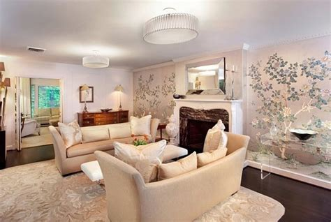 livingroom wallpaper 20 eye catching wallpapered rooms