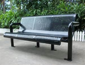 Metal Benches For Outdoors Metal Benches Aluminum Outdoor Bench Outdoor Metal Park