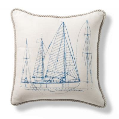 Vintage Outdoor Pillows by Vintage Ship Profile Outdoor Pillow Chairs Pillows
