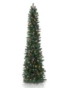 7 balsam hill sonoma slim pencil artificial christmas