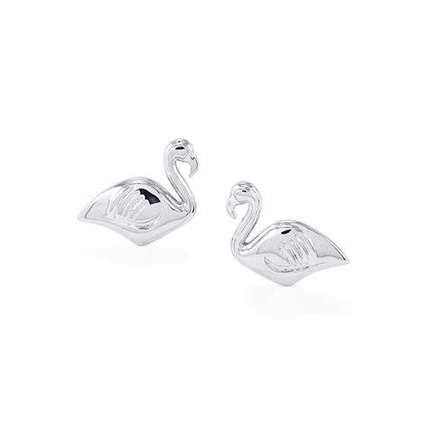 Sterling Silver Swan Earring sterling silver swan earrings ydus28 gemporia