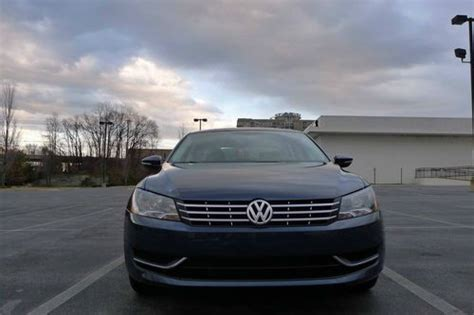 Volkswagen Passat Tdi Gas Mileage by Buy Used 2012 Volkswagen Passat Tdi Diesel 40 Mpg Gas