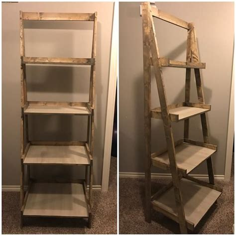 ana white painters ladder shelf   plans