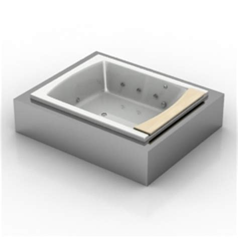 Teuco Seaside T08 by 3d Sanitary Ware Bath Teuco Seaside T08 N040912 3d