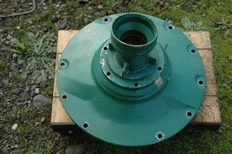volvo penta adp  marine diesel engine flywheel housing cover part  ebay