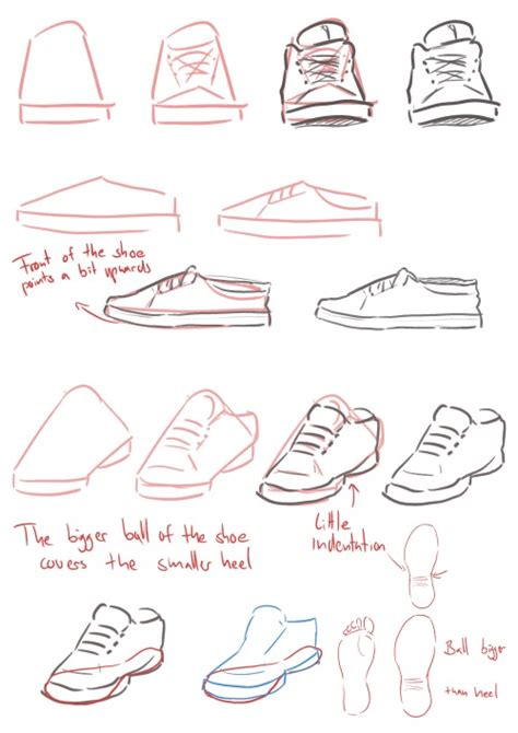 how to draw shoes amalas tutorial