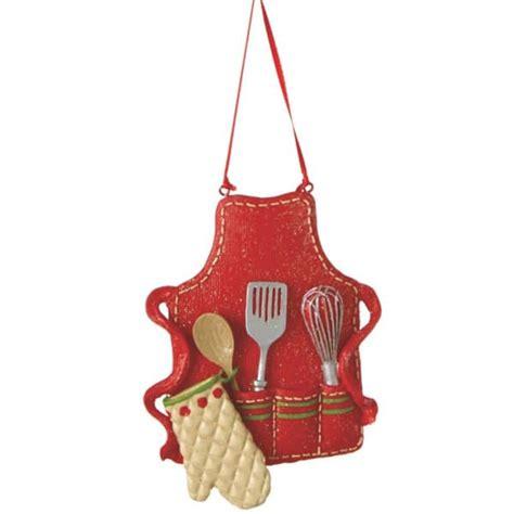 kitchen cook s apron christmas ornament midwest cbk