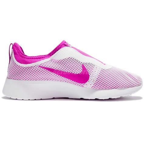 Nike Slop Pink wmns nike tanjun slip on pink casual shoes