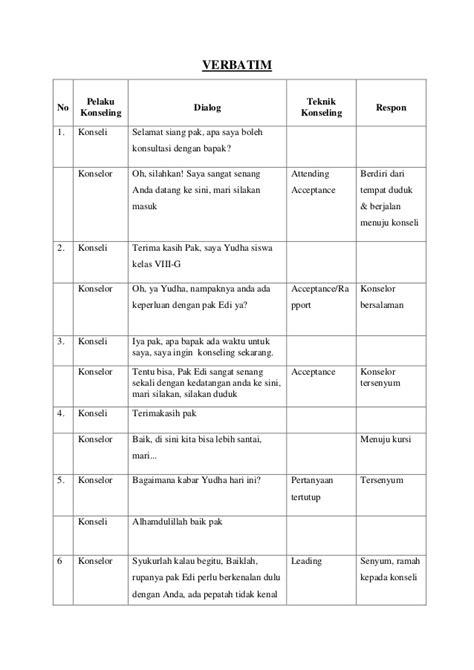 cara membuat makalah wawancara contoh verbatim refrensi