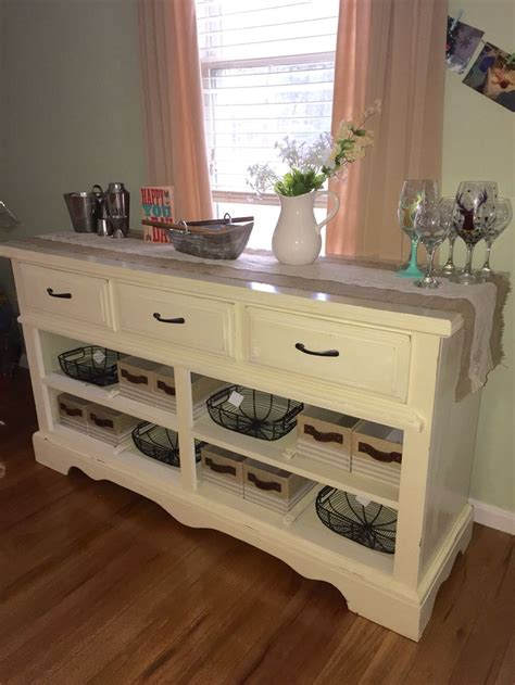How To Turn A Dresser Into A Buffet Table by 25 Best Ideas About Dresser To Buffet On
