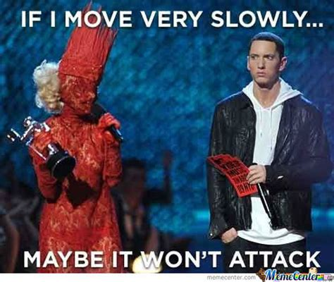 Lady Gaga Memes - eminem lady gaga by manthony meme center