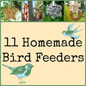 Home Decor Handmade Crafts 11 Homemade Bird Feeders For Your Back Yard