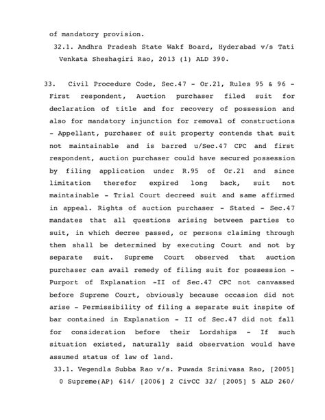 civil code section 47 compilation of judgments wherein it is held that quot suit not
