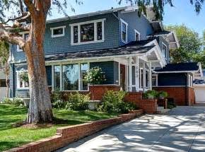 Ranch Home Curb Appeal Ideas - giving an old california craftsman new curb appeal hooked on houses