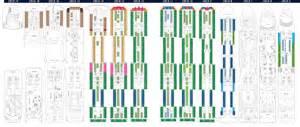 deck plans msc seaside and msc meraviglia deckplans cruiseind
