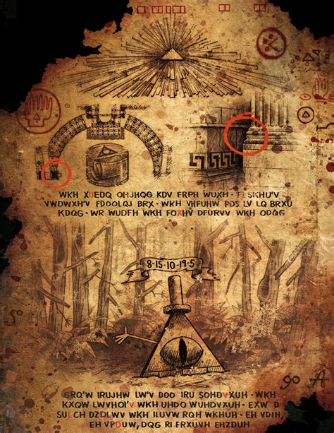 cipherhunt gravity falls lives on diskingdom com