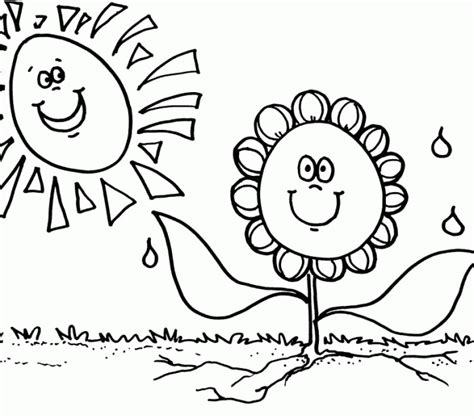 plant coloring pages for kindergarten coloring worksheets kindergarten plant coloring pages for
