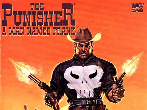 cowboy film makes hero a poser the punisher a man named frank wallpaper and background