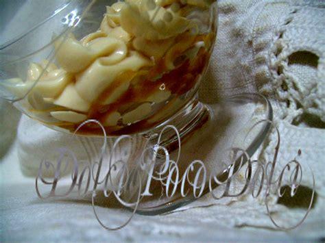 panna montata fatta in casa coppa panna fatta in casa al nocciolato di miele