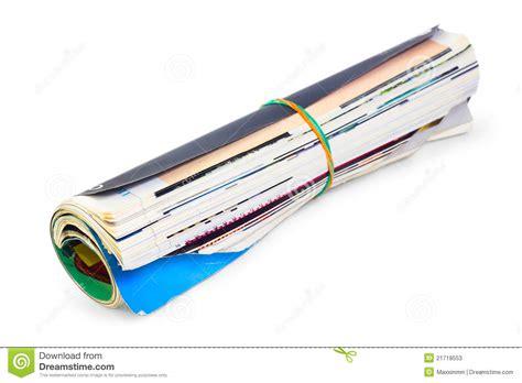 magazine folded magazine folded stock photos image 21718553