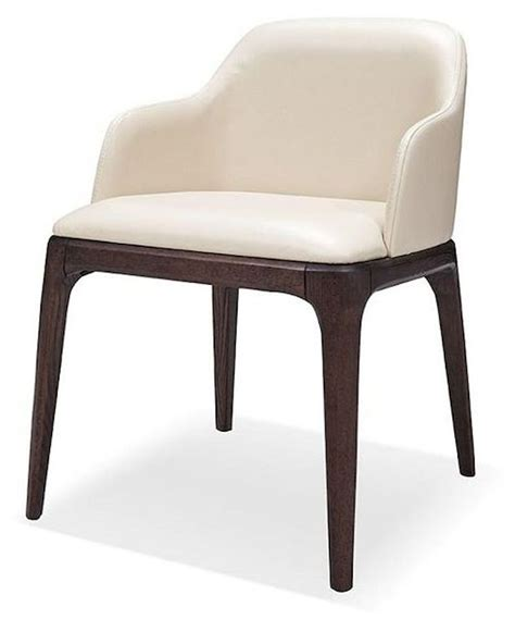 Leather Dining Chairs Contemporary Contemporary Eco Leather Dining Chair 44d537y