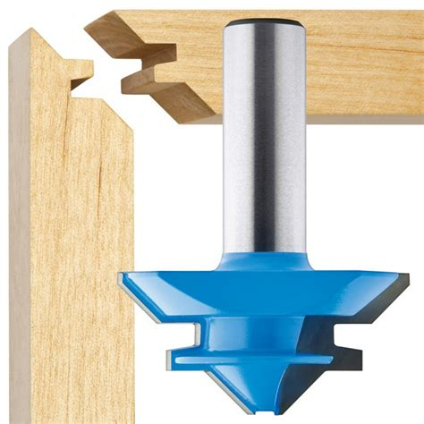 router bit reviews woodworking 45 176 lock miter router bits rockler woodworking and hardware