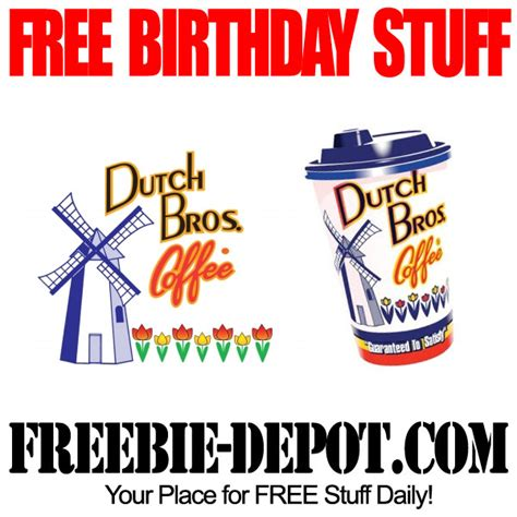 Where To Buy Dutch Bros Gift Card - birthday freebie dutch bros coffee freebie depot