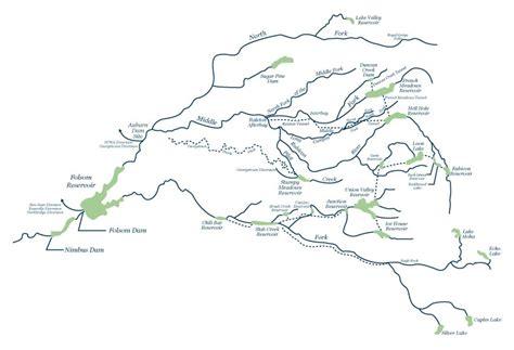 america rivers map american river map