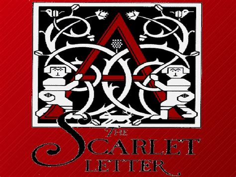 scarlet letter symbols scarlet letter 1611