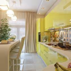 Yellow And White Kitchen Ideas by Yellow White Kitchen Dining Space Interior Design Ideas