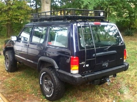 sell used 1998 lifted jeep offroad tires custom