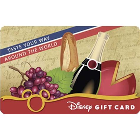 Wine Gift Cards - your wdw store disney gift card food and wine festival 2012