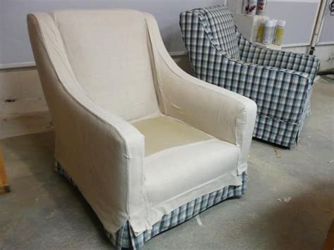 how to make chair slipcovers easy how to make arm chair slipcovers for less than 30