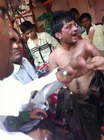 indian castrated by angry mob who hack