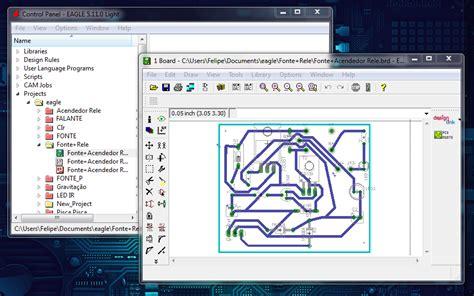 eagle layout editor video aula criando crcuito parte 1 dicas de software eagle power geek