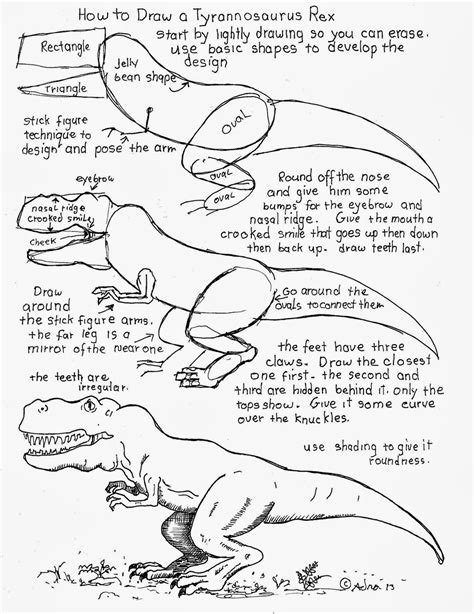 Drawing Y Mx C Worksheet by How To Draw A Tyrannosaurus Rex Worksheet Dise 241 Os
