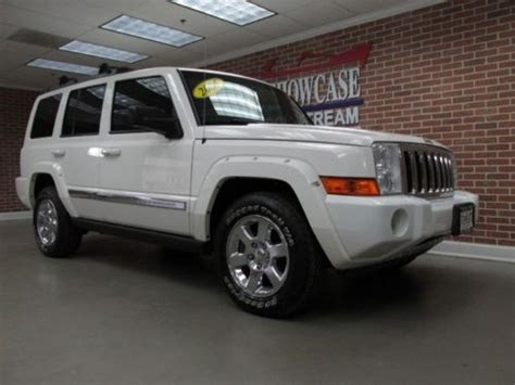 jeep commander with 3rd row seating buy used 2006 jeep commander limited 4x4 rear dvd 3rd row