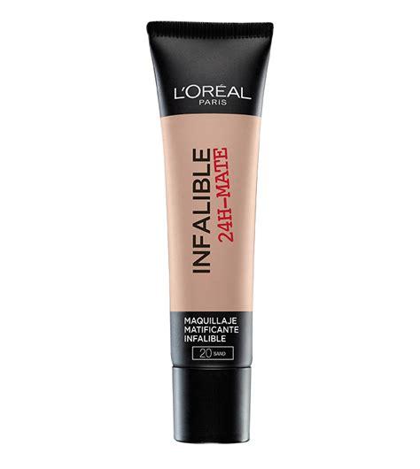 L Oreal Base comprar loreal base de maquillaje infalible mate