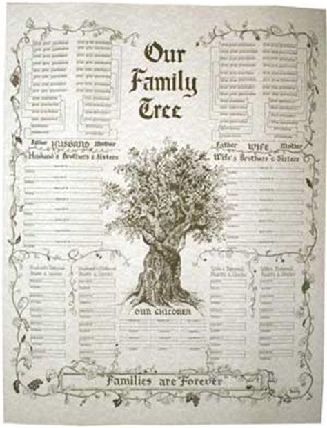 free printable family tree book pedigree charts forms