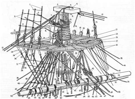 ship rigging diagram anatomy of a top from goodwin s quot anatomy of