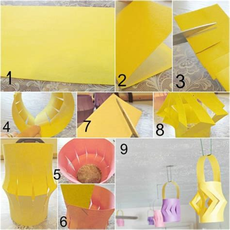 How To Make Paper Lanterns Easy - in lean cuisine asian dinner diy paper lanterns