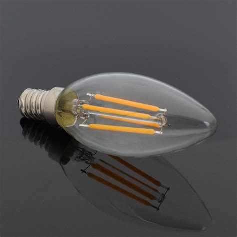 filament light bulb chandelier e12 e14 filament l led lights candle bulb c35