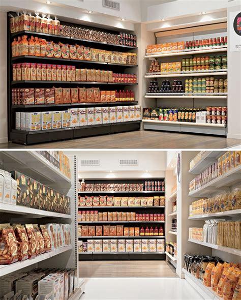 scaffali alimentari alimentari scaffalatura market per negozi e centri