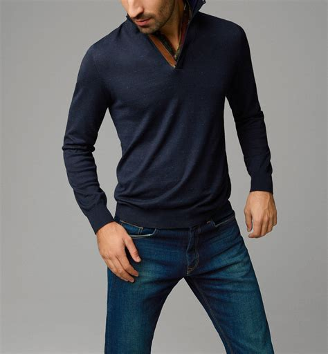 Sweater Massimo Dutti turtleneck jacquard sweater view all from massimo dutti