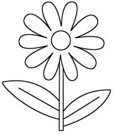 Is For Daisy Flower Coloring Page  Free &amp Printable Pages sketch template