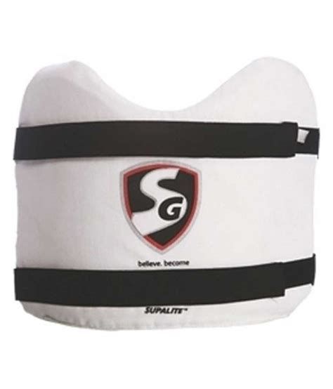 Chest Guard 1 sg supalite chest guard buy at best price on snapdeal