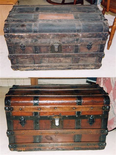 antique trunk mullaly furniture finishing