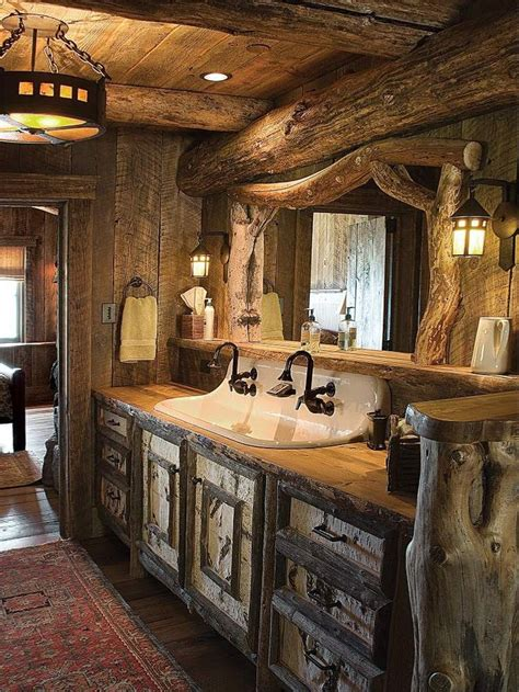 Western Bathroom Best 25 Wooden Bathroom Vanity Ideas On