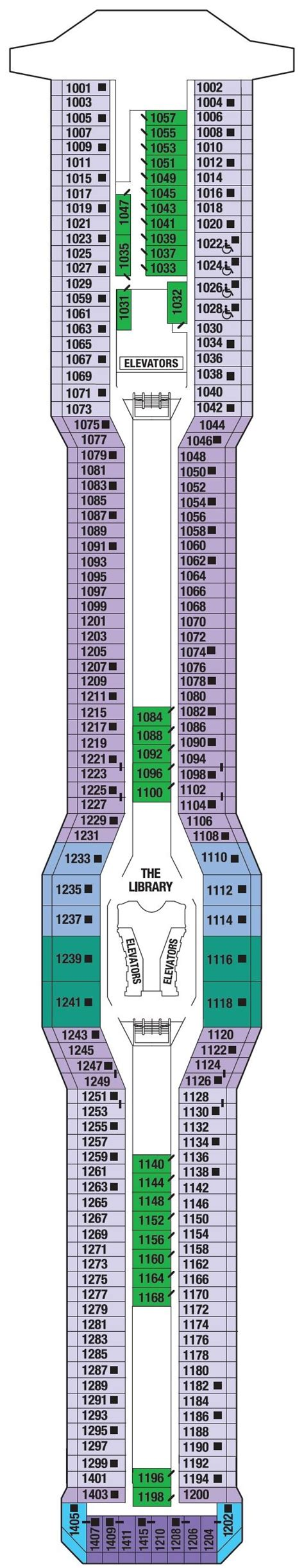 Galerry printable deck plans celebrity eclipse