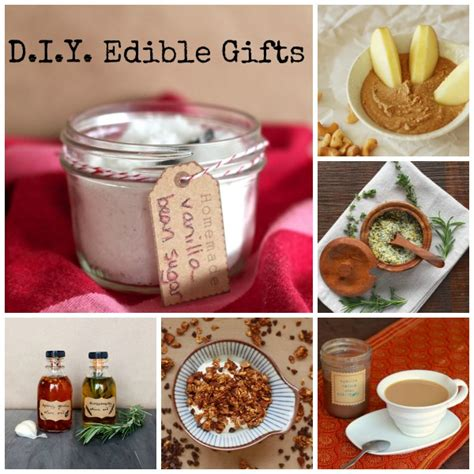 Edible Gifts - diy edible gifts